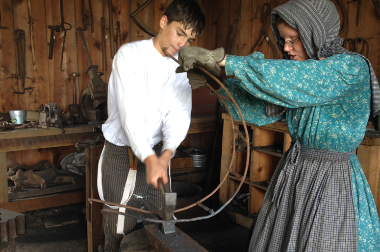 Blacksmith Youth volunteer