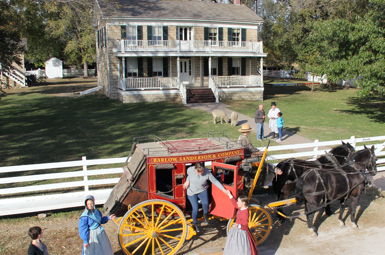 Stagecoach Living History